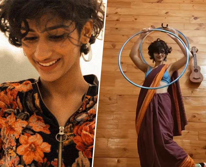 meet eshna kutty whose saree sneakers hula hoop viral video
