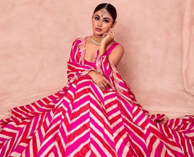 mouni roy birthday special  fabulous ethnic looks