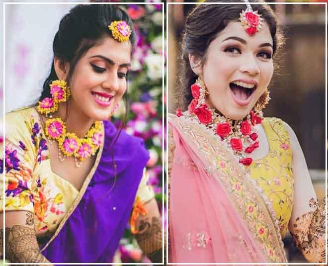 wedding floral jewellery ideas m