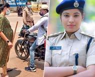 Pregnant DSP Performs Her Duty Amid Covid  Lockdownssssssss