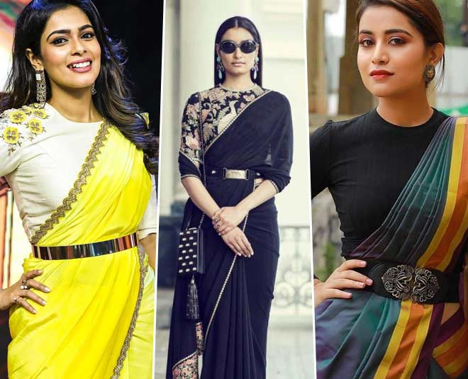 Wear Sarees With Belts