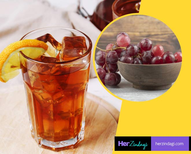 Wholesome Benefits & Recipe Of Red Grape Iced Teaaaa