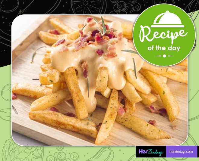 cheese fries at home recipe