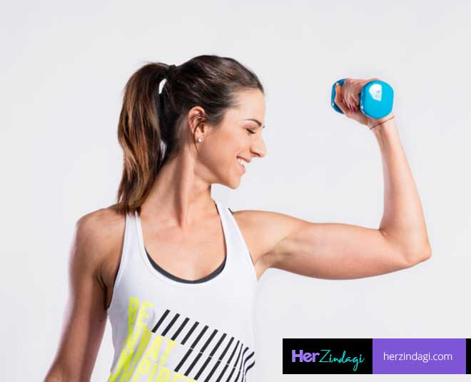 dumbbell exercise at home M
