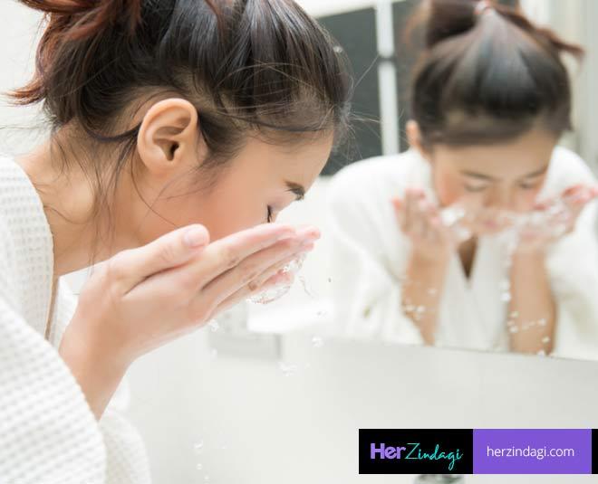 face wash technique M