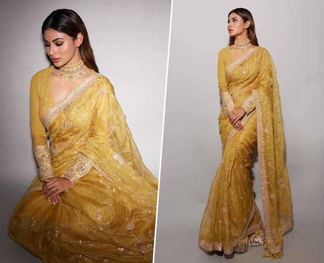 heavy bridal saree draping