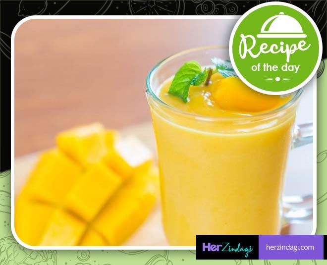 mango milkshake easy recipe