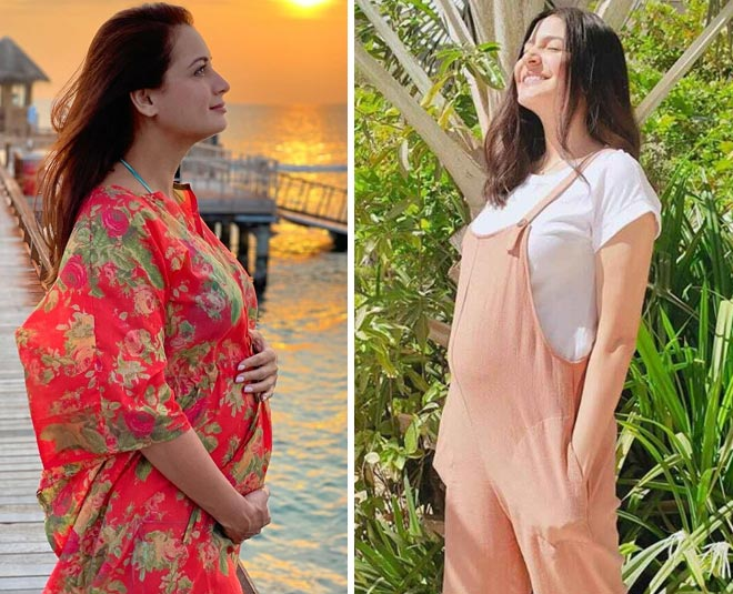 maternity pregnancy clothes celebrities dia mirza