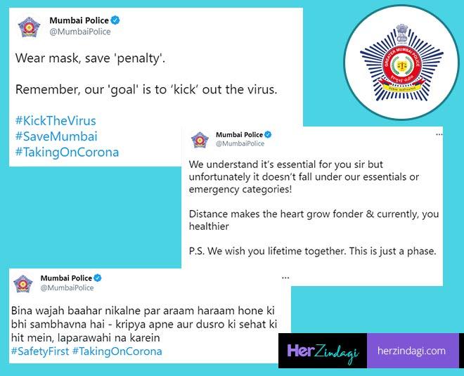 mumbai police twitter replies funny