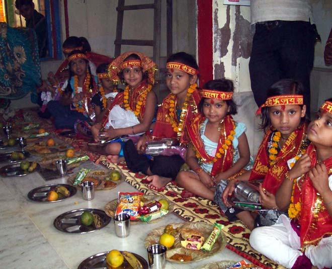 navratri kanya image