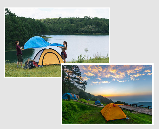 planning de camping