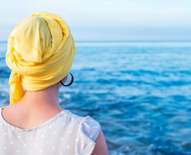 protect hair at beach