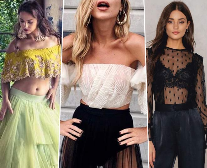 s You Can Slay In Tulle Tops This Summer