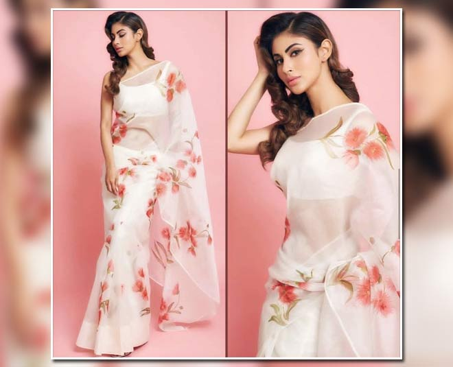 saree daraping tips by mouni roy