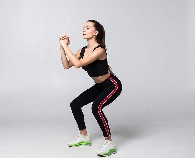 squats for hips and thighs M