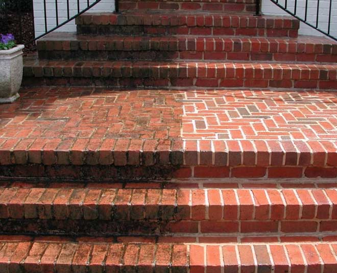 ways to clean pavers