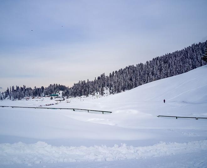 winter sport in gulmarg