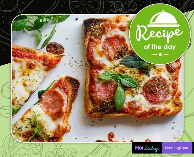Minute Pizza On Toast Recipe