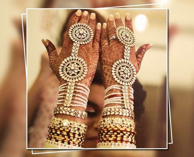 Stunning Bridal Haath Phool