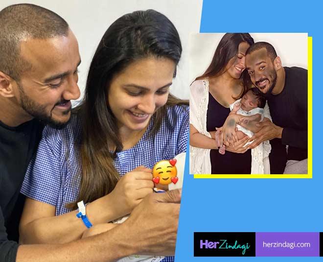 anita hassanandani first child