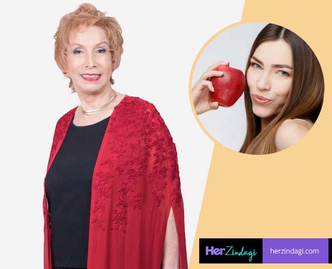 apple peel beauty hacks by beauty expert