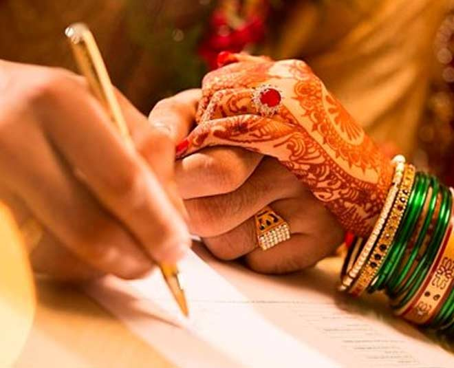 court marriage m