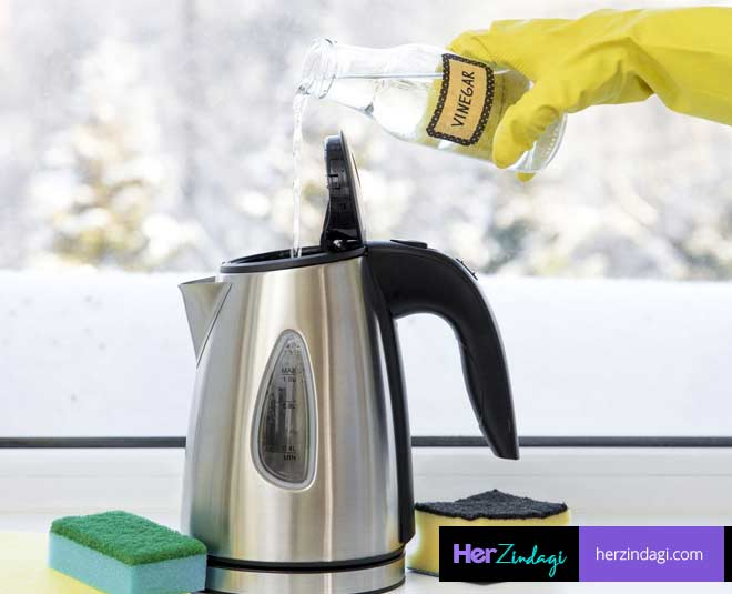 electric kettle cleaning tips