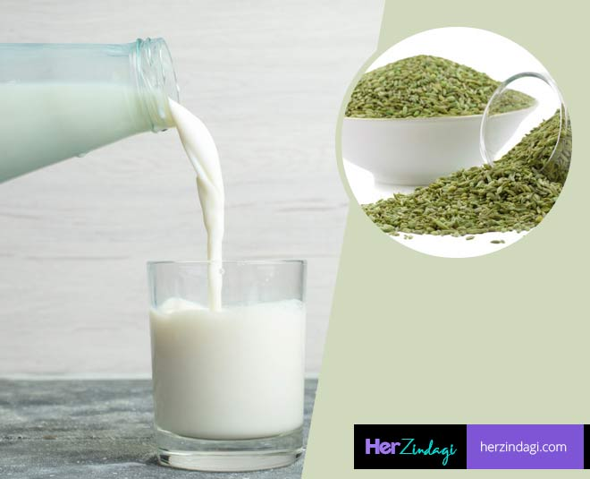 fennel seeds milk benefits health