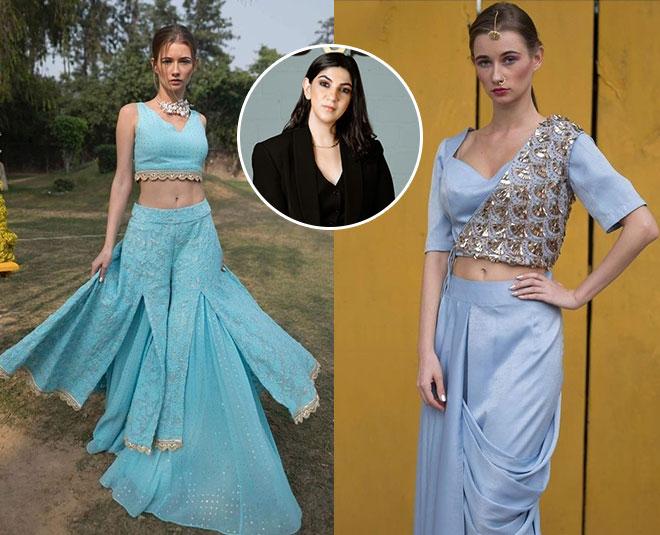 indo western designer wear