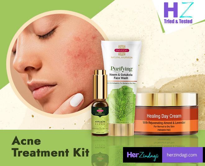 inveda acne kit main