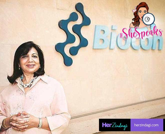 kiran shaw biocon story inspiration