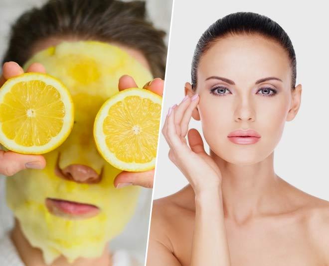 lemon facial steps
