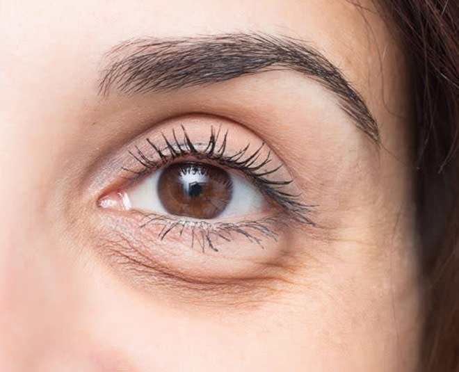 massage for loose sagging skin under eyes