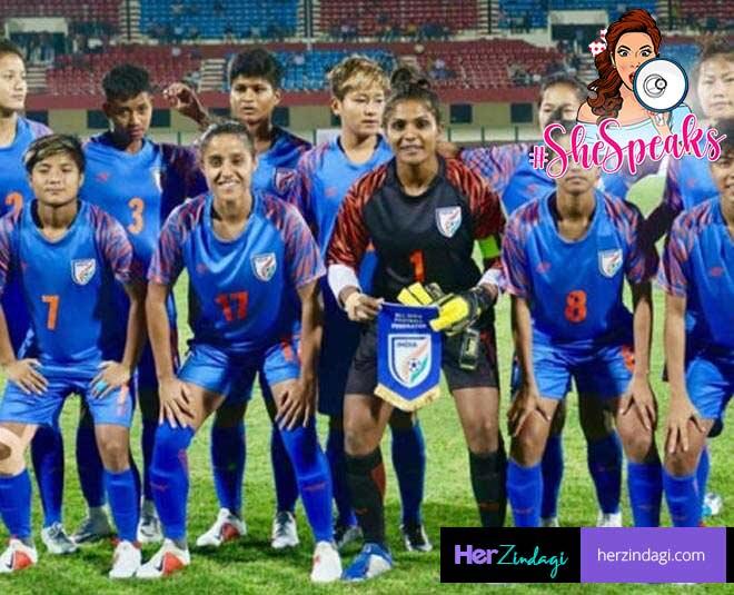 women football team m