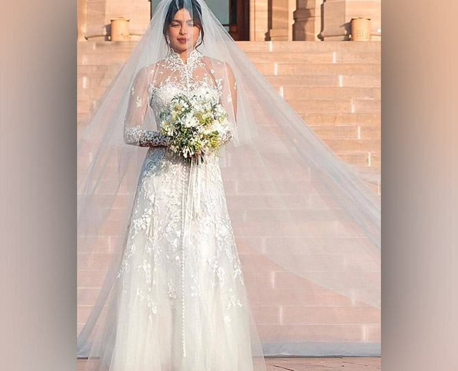 Celeb Inspired White Gowns For A White Wedding