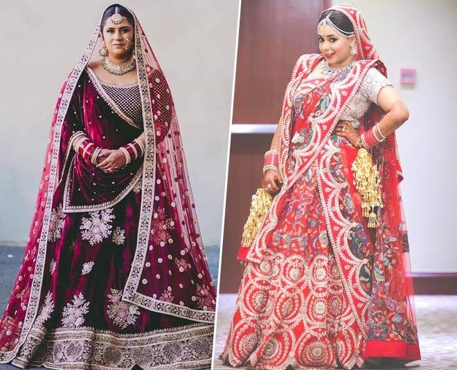 Gorgeous Lehengas For The Plus Size Brides