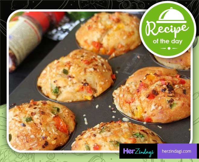 Vegetable Frittata Muffins,