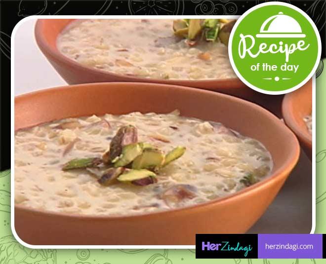 barley kheer easy recipe