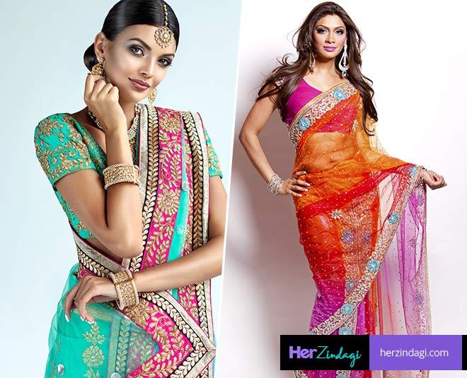 best tips to look slim in saree