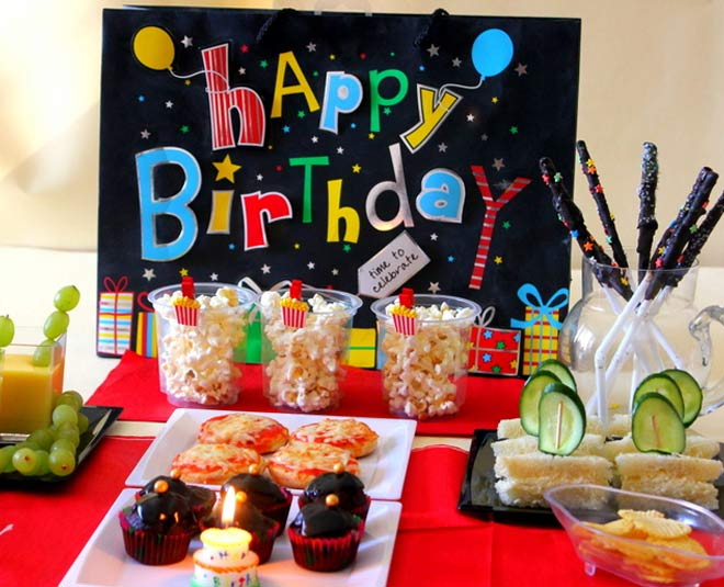 food for kids birthday party