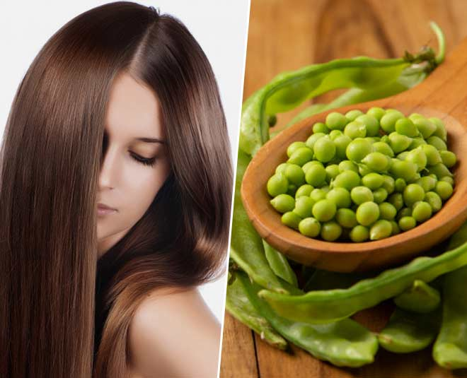 hair mask green pea main