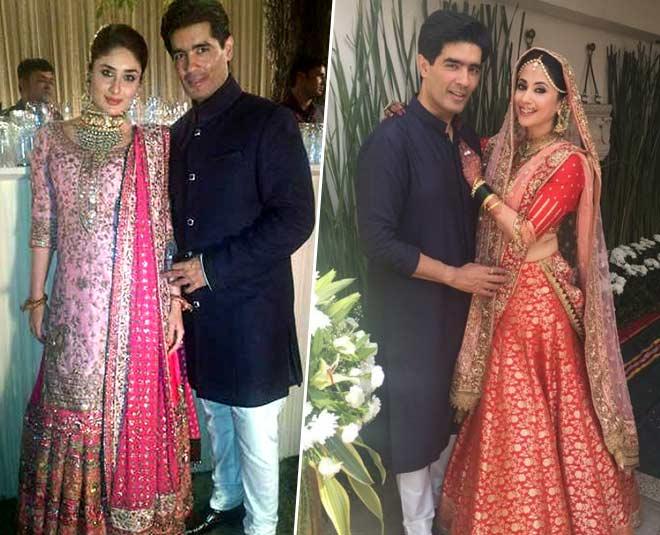 manish malhotra wedding outfits kareena gauahar natasha