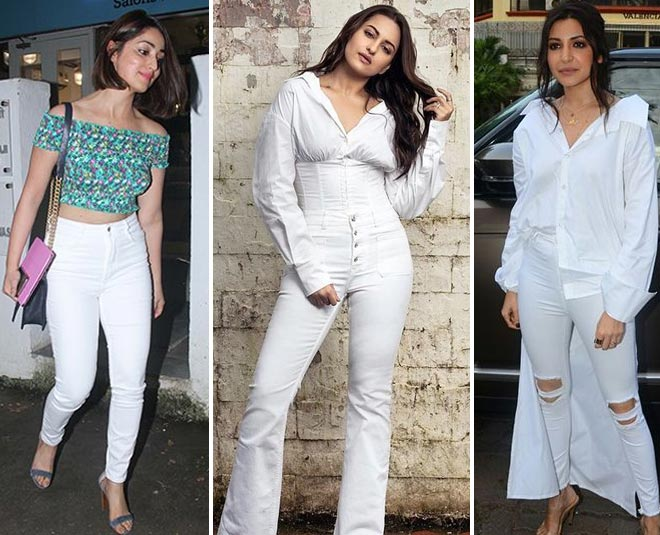 white jeans in fashion
