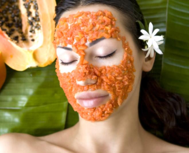 M papaya facial at home