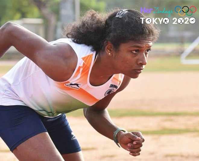 Revathi Veeramani tokyo olympics  mixed relay
