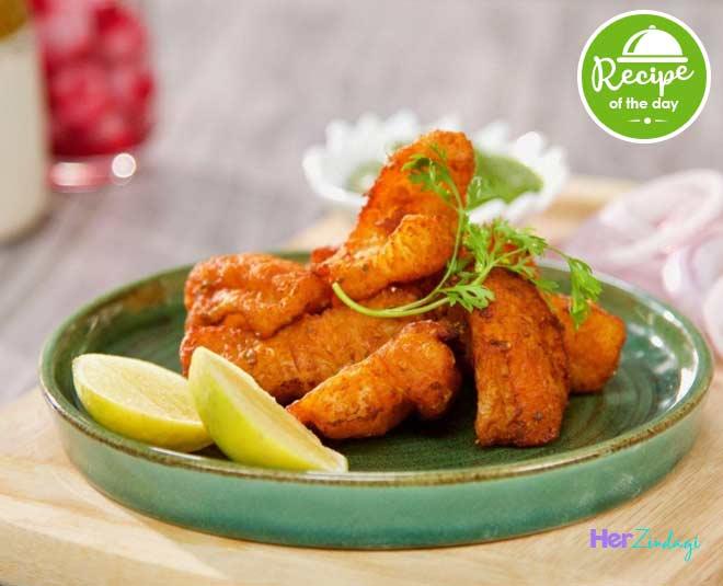 amritsari fish fry at home