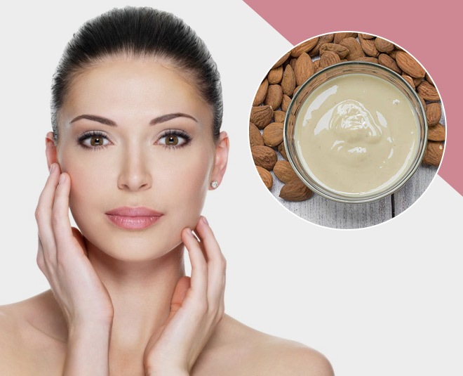 best skin care routine from almond