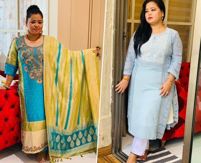bharti singh birthday special ethnic looks suits sarees