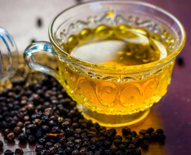 black pepper tea benefits