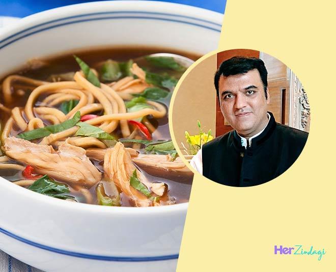 chef kaviraj soup recipes veg chicken